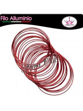 4mt FILO ALLUMINIO 1mm ROSSO