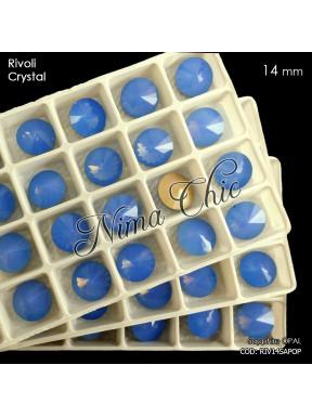 2pz RIVOLI in cristallo Light sapphire opal