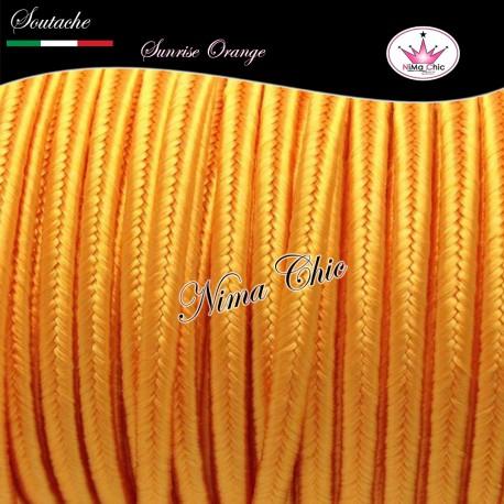 SOUTACHE viscosa piattina 3mm SUNRISE ORANGE