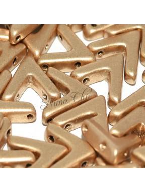10 pz AVA BEADS perline conteria aztec gold