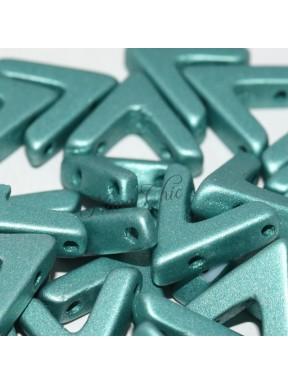 10 pz AVA BEADS perline conteria metallic emerald