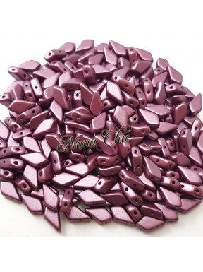 Kite Beads Pastel Burgundy