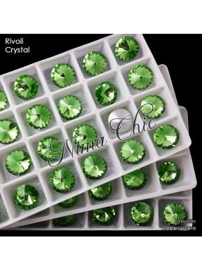2 RIVOLI cristallo CHRYSOLITE