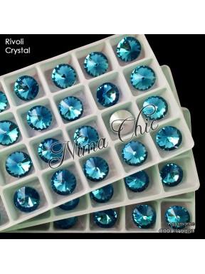 2 RIVOLI cristallo AQUAMARINE