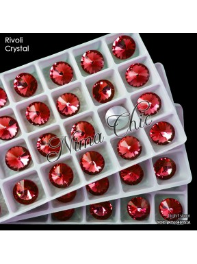 2 pz RIVOLI cristallo LIGHT SIAM