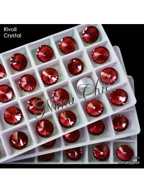 2 pz RIVOLI cristallo SIAM