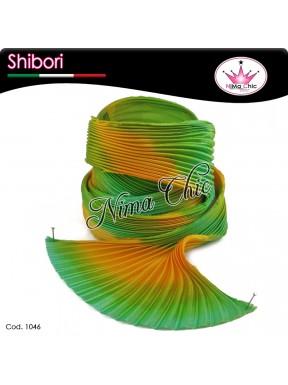15 cm SETA SHIBORI tropical