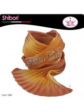 15 cm SETA SHIBORI sunflower