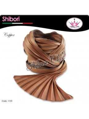 15 cm SETA SHIBORI copper