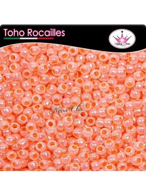 10 gr TOHO ROCAILLES 8/0 ceylon peach blush