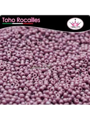 10 gr TOHO ROCAILLES 8/0 opaque  lavender