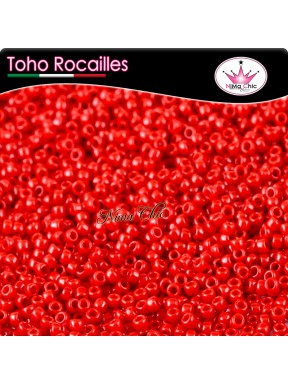 10 gr TOHO ROCAILLES 8/0 Opaque pepper red