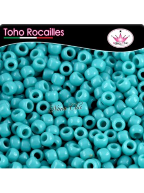 10 gr TOHO ROCAILLES 8/0 Opaque turquoise