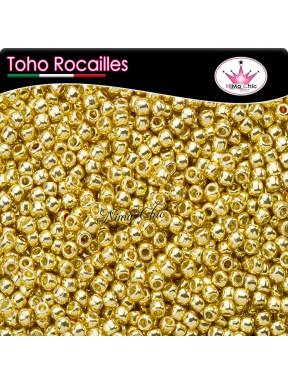 10 gr TOHO ROCAILLES 11/0  Permafinish galvanized starlight