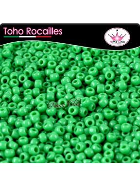 10 gr TOHO ROCAILLES 8/0 Opaque shamrock