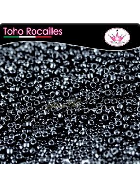 10 gr TOHO ROCAILLES 8/0 opaque  jet