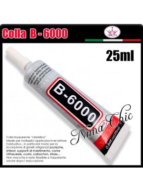 COLLA B-6000 trasparente per bigiotteria 25ML