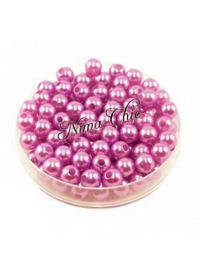 100 pz perle in vetro cerato pvc Glicine 6mm