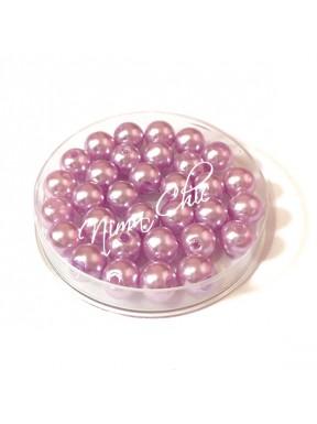 80 pz perle in vetro cerato pvc Glicine 8mm