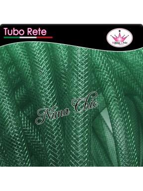 2mt RETE TUBOLARE Nylon 4 o 8mm Verde