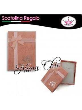 SCATOLINA CONFEZIONE REGALO 7x5 cm ROSA