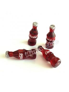 2 BOTTIGLINE DI Coke MINIATURE DOLLHOUSE 22 mm